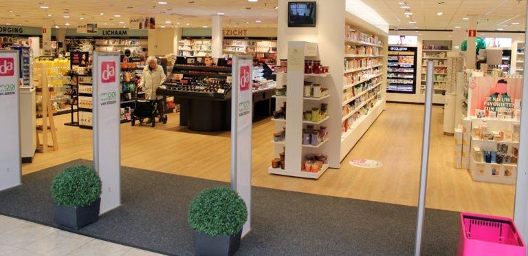 DA Van Zessen - drogisterij in Alblasserdam - beveiligingspoortjes van EAS-Resatec - winkeldiefstalbeveiliging