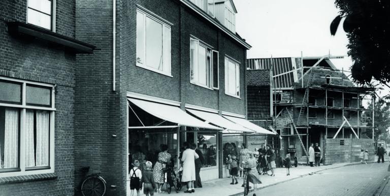 Modehuis Blok bij oprichting