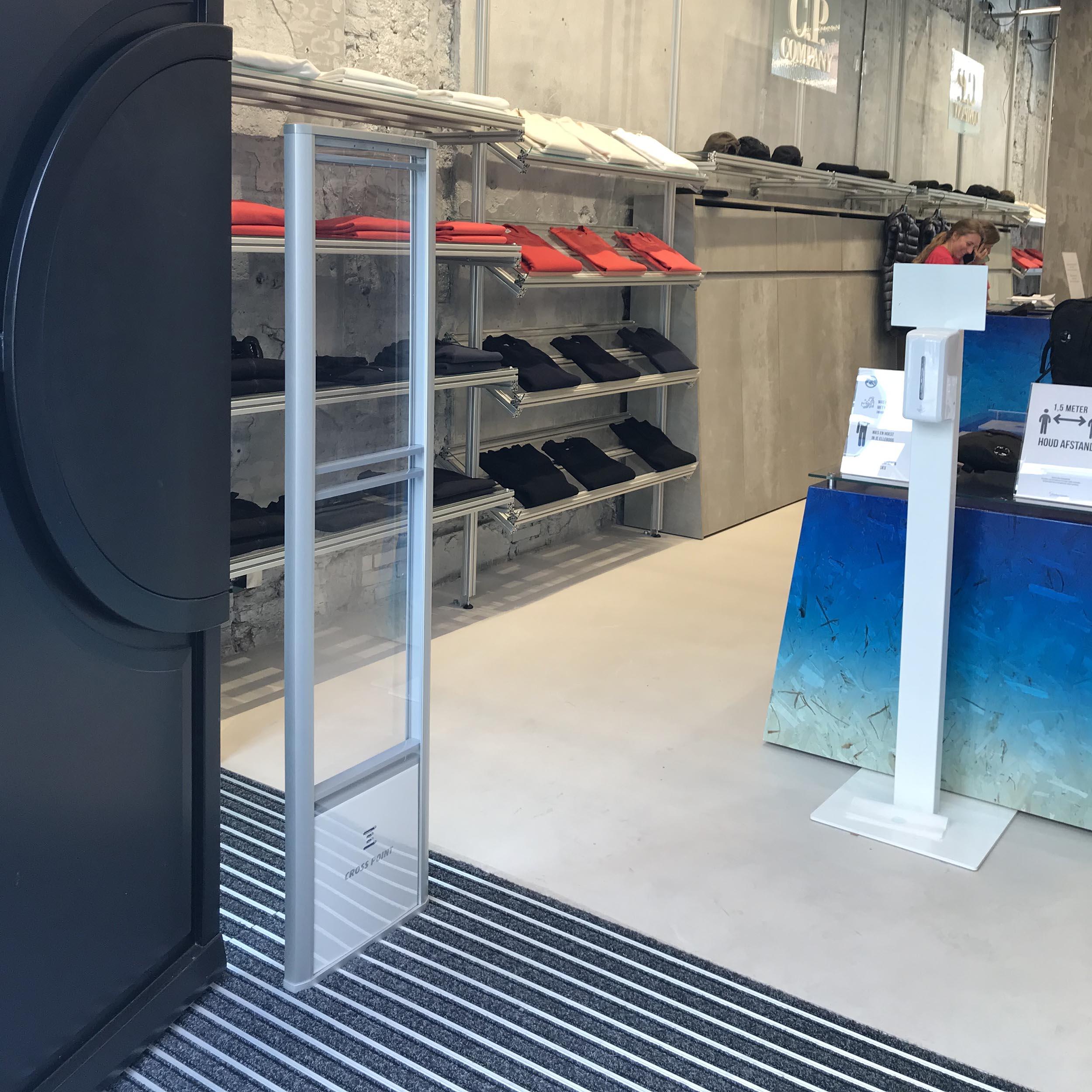 C.P. Company rekent op de beveiliging van EAS-Resatec in Amsterdam